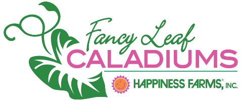 Happiness Farms Fancy Leaf Caladiums Logo